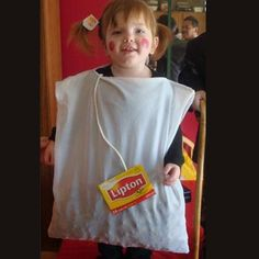 I did this to Nate years ago for Halloween Tea bag costume. I did this to Nate years ago for Halloween The post Tea bag costume. I did this to Nate years ago for Halloween appeared first on Halloween Costumes. Modest Halloween Costumes, Handmade Halloween Costumes, Creative Costumes, Easy Adult Halloween Costumes For Women, Halloween Clothes, Homemade Toddler Costumes, Homemade Halloween, Halloween Kids, Halloween Couples