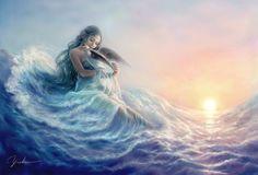 Vampire Knight, Art Vampire, Mermaid Drawings, Mermaid Art, Yemaya Orisha, Paul Verlaine, Celtic Druids, Avatar Picture, Anime Angel Girl