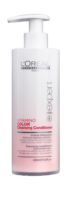 L'Oréal Professionnel Paris série expert Vitamino Color Cleansing Conditioner 400ml.
