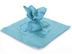 Sacchetti di organza - Sacchetto Portaconfetti in Cotone Pavone pz.25 - un prodotto unico di raffasupplies su DaWanda