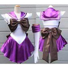 Sailor Saturn cosplay costume Sailor Moon dress Hotaru cosplay costume