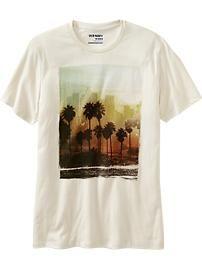 Men's Photo-Real Palm Tree Tees
