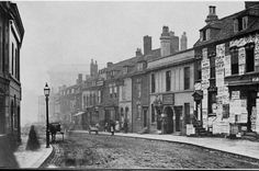 """""""Picture from Ann Street, Birmingham believed to be from 1867 Birmingham City Centre, Sutton Coldfield, Birmingham England, Uk Photos, West Midlands, Local History, Old Pictures, Old Town, Street View"""