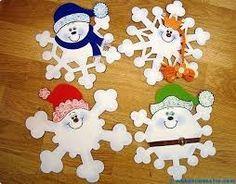 Resultado de imagen para dibujo copo de nieve infantil