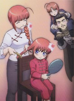 clan yato All Anime, Anime Love, Manga Art, Anime Art, Kamui Gintama, Chibi, Pokerface, Comedy Anime, Anime Couples Drawings