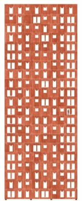 "Facade with ""reverse gravity"" of San Felipe Tower in Lima by Valerio Olgiati."