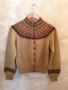 Vintage William Schmidt Co Oslo wool cardigan by antiquecheek, £45.00