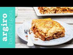 Παστίτσιο παραδοσιακό από την Αργυρώ Μπαρμπαρίγου | Η συνταγή και όλα τα μυστικά επιτυχίας, για το πιο κλασικό και αγαπημένο φαγητό της μαμάς! Rice Pasta, Greek Cooking, Greek Recipes, Lasagna, French Toast, Recipies, Good Food, Veggies, Cooking Recipes