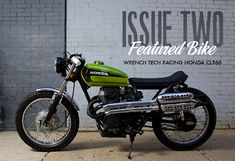 Issue Two Feature: Wrench Tech CL360 Scrambler | Iron & Air