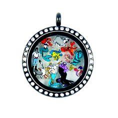 Little Mermaid Ariel Floating Charms by PandemoniumTreasures, $5.00