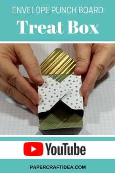 envelope punch board boxes, projects, tutorials, youtube video stampin up, sweet soiree, easy crafts, party favor #stampinup #partyfavors #videotutorial #papercrafting
