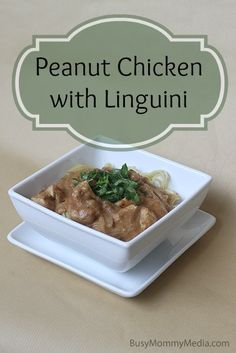 Peanut Chicken with