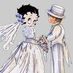 BETTY BOOP WEDDING