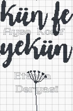 Cross Stitch Baby, Cross Stitch Alphabet, Cross Stitch Patterns, Bohemian Baby Nurseries, Diy And Crafts, Embroidery, Crossstitch, Islamic Art, Cross Stitch
