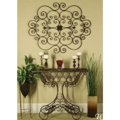 I M Such A Huge Fan Of Wrought Iron Wall Decor