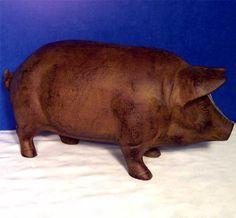 Rust Pig Piggy Bank X-Large-Door Stop-Garden-Cast Iron americana-r-us http://www.amazon.com/dp/B002JAX7Y0/ref=cm_sw_r_pi_dp_gIK4tb0QB2H93