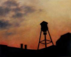 Christie Scheele | Christie Scheele: Sunset Roofline @ Thompson Girroux Gallery