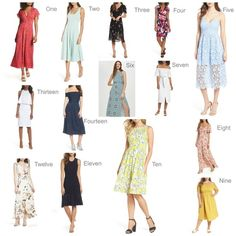 Who doesn't love summer dresses?  It's even better when those dresses are under $100!  I've put together dresses for every style and body type.  Shop them here! #ShopStyle #shopthelook  #SummerStyle #MyShopStyle #summerdresses #under100