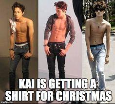 yes kai. a shirt.