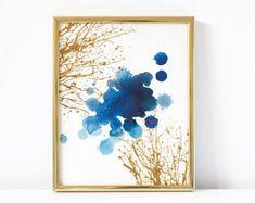 Abstract Printable Art  Watercolor Printable Art  Modern Art