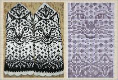 Knit Mittens, Mitten Gloves, Animal Print Rug, Knitting, Knits, Tricot, Breien, Stricken, Weaving