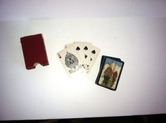 Vintage Bridge Playing Cards on Etsy, $25.00