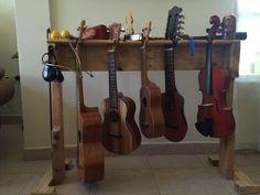 Soporte de instrumentos Palets reciclados