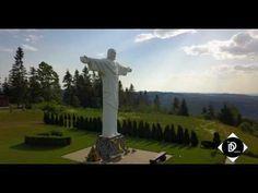 ORAVA-KLIN SOCHA JEŽIŠA (Big statue of Jesus Slovakia) - YouTube Statues, Golf Courses, Big, Youtube, Effigy, Youtubers, Youtube Movies