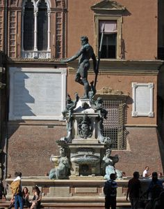 Nettuno Side View Bologna, Side View, Statue Of Liberty, Greek, Italy, Travel, Statue Of Liberty Facts, Italia, Viajes
