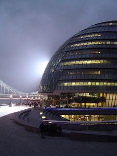 Edificio City hall en Londres de Norman Foster.