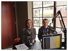 Dr Shamby Polychronis and Brooks Donaldson in the KPCW studio on Community Voices.