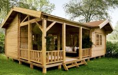 Lugarde Rio log cabin, garden office, Log Cabins for sale, Free Delivery Small Cottages, Cabins And Cottages, Cabin Homes, Log Homes, Tiny Homes, Style At Home, Log Cabins For Sale, Log Home Kits, Carports