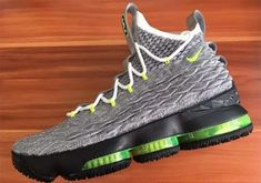 more photos 4a443 8c4ea The Nike LeBron 15 Neon from the LeBronWatch series is inspired by the Nike  Air Max 95 Neon colorway. This LeBron 15 mimics the OG Air Max 95 Neon  colorway.
