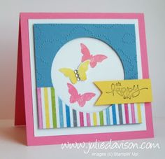 Julie's Stamping Spot -- Stampin' Up! Project Ideas Posted Daily: Spring Catalog & Sale-a-Bration Sneak Peek: Sunshine & Sprinkles