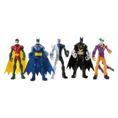 DC Comics Joker Batman Super Hero  Figure Toy Child Gift Mattel 2013 3.75/'/' Kids