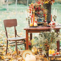 Magical Fall Wedding Inspiration