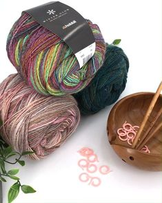 Louisa Harding Yarn Lot Of 4 New Balls Shingle Yarn Lot Taupe
