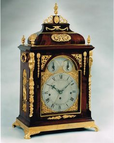 A musical bracket clock by John Taylor, London by JOHN TAYLOR OF LONDON - Raffety Fine Antique Clocks