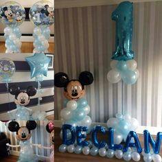 #MickeyMouseballoons #new baby #baby girl #baby boy #bellissimoballoonco@yahoo.com #bellissimoballoons