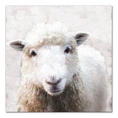 Sheep Paintings, Animal Paintings, Watercolor Animals, Watercolor Art, Sheep Art, Farm Art, Beginner Painting, Farm Animals, Canvas Art Prints