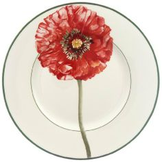 Villeroy & Boch Flora Poppy Design Salad Plate by Villeroy & Boch. Save 40 Off!. $22.79. Vitrified porcelain for strength and durability. Bold and bright orangey-red poppy bursts into bloom. 8 1/4-inch diameter. Imported from Luxembourg and Germany. Salad Plate - Poppy - Multi-Color Floral Design - Made In Germany
