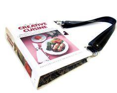 Book Purse made from a Cookbook  Cook Book Handbag by retrograndma, $49.99