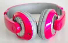 #buyitnow - Nakamichi Over the Ear Headphones Pink Metallic Edition NK780M