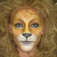 Cirque Du Soleil make-up