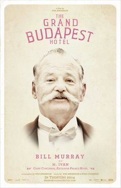 The Grand Budapest Hotel poster designed by BLT Communications, LLC