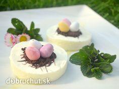 Fotorecept: Veľkonočné nepečené hniezda Cheesecake, Desserts, Food, Tailgate Desserts, Deserts, Cheesecakes, Essen, Postres, Meals
