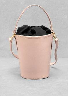 & Other Stories Leather Bucket Bag -- $159.15