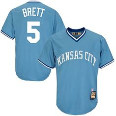 Mike Moustakas Kansas City Royals Cooperstown Jersey