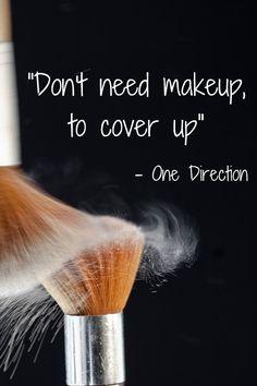 One Direction #makeup #beauty #lyrics