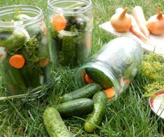 Korn, Pickles, Cucumber, Pickle, Pickling, Cauliflower, Zucchini